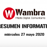 Corona Virus Ecuador – resumen 27 de mayo 2020