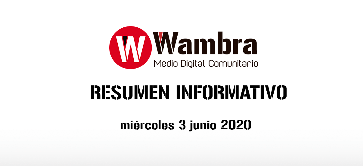 Corona Virus Ecuador – resumen 3 de junio 2020