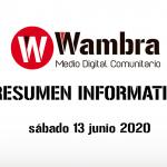 Corona Virus Ecuador – resumen 13 de junio 2020