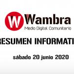 Corona Virus Ecuador – resumen 20 de junio 2020