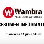 Corona Virus Ecuador – resumen 17 de junio 2020