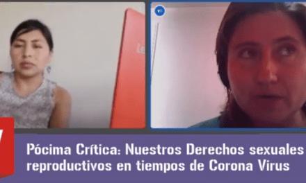 Derechos sexuales y reproductivos en tiempos de coronavirus