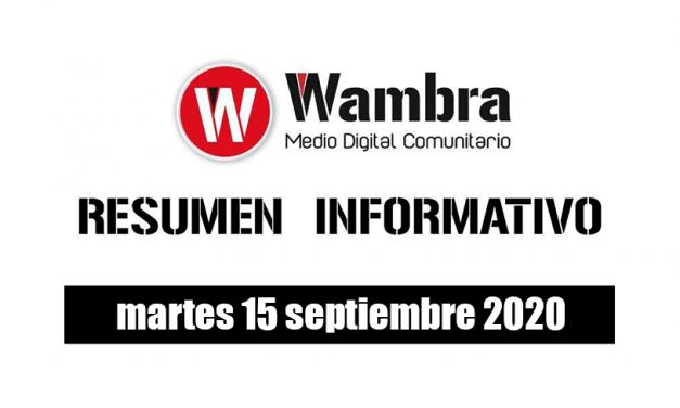 Resumen 15 septiembre 2020
