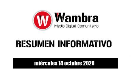 Resumen 14 octubre 2020