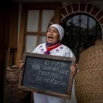 Comunidad la Toglla, lucha popular entre gases lacrimógenos y humo de sahumerio