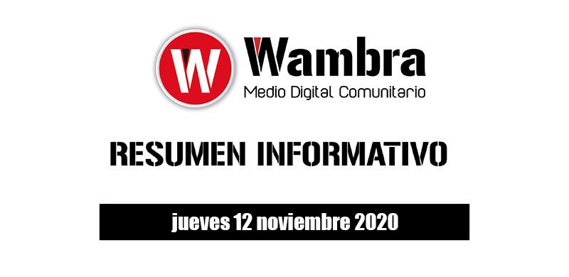 Resumen 12 noviembre 2020