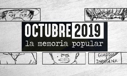 Octubre 2019. La memoria popular