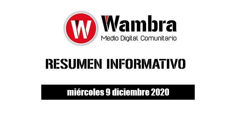 Resumen 9 diciembre 2020