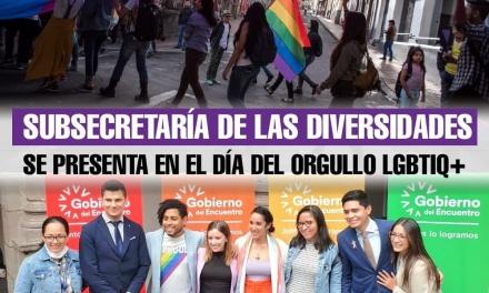 Subsecretaría de las Diversidades se presenta en el día del Orgullo LGBTIQ+
